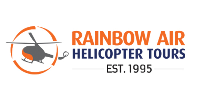 Rainbow Air Helicopter Tours Logo