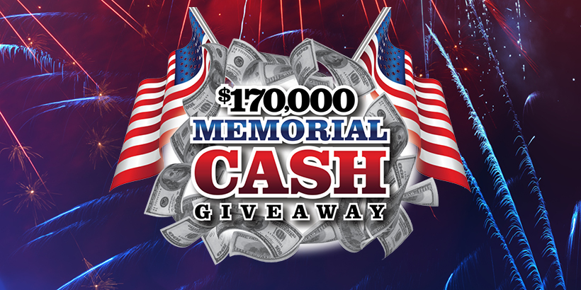 $170K Memorial Cash Giveaway