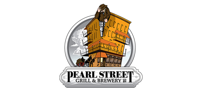 Pearl Street Grill & Brewery Logo